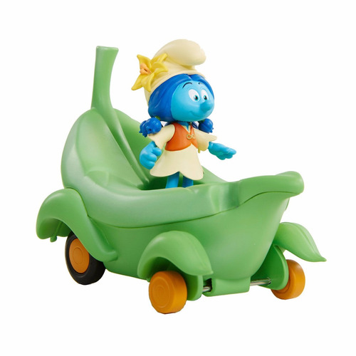 muñeco pelicula pitufos la aldea perdida vehiculo lily