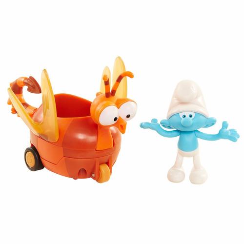 muñeco pelicula pitufos la aldea perdida vehiculo tontin