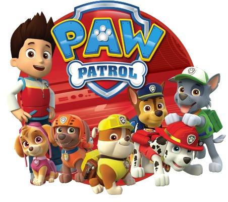 muñeco peluche mochila paw patrol patrulla canina mundo team