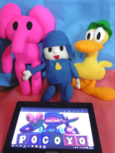 muñeco peluche pocoyo y sus amigos (precio unitario)