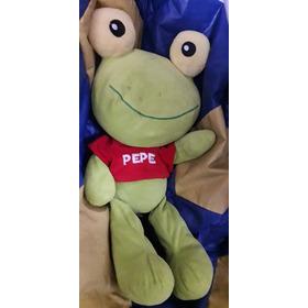 Muñeco Peluche Sapo Pepe Original