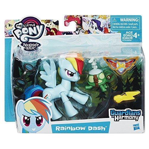 muñeco rainbow dash mi pequeño pony: guardianes la armonía