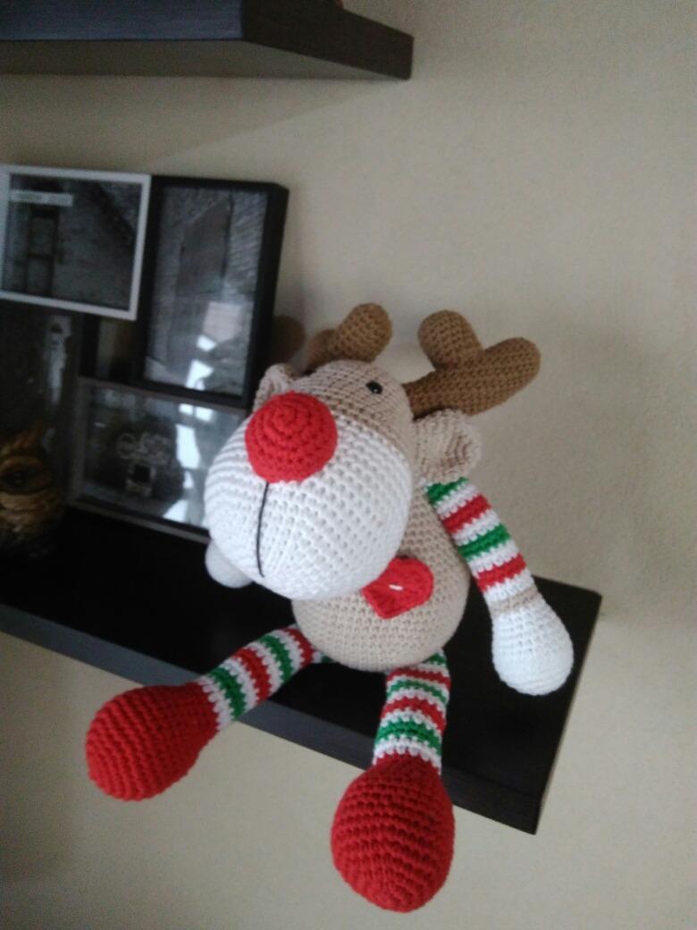 Reno amigurumi navideño   Patrones de crochet de navidad ...   1040x780