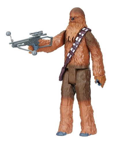 muñeco star wars chewbacca 30 cm original hasbro