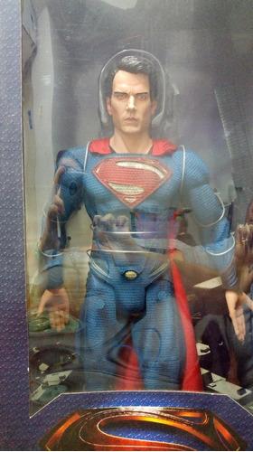 muñeco superman grande original mide 48cm