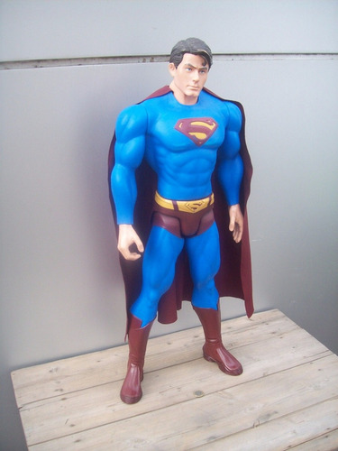 muñeco superman returns 06 gigante mattel dc comic