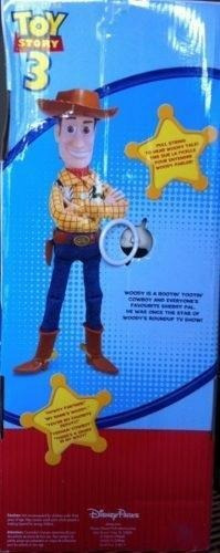 muñeco talking woody toy story 3 de 36cm