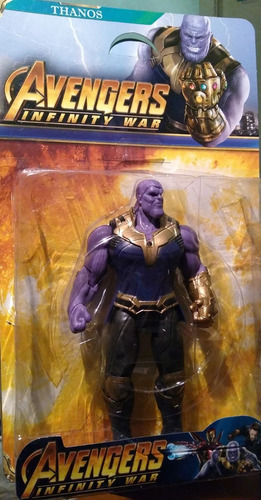 muñeco thanos avengers marvel articulados importados