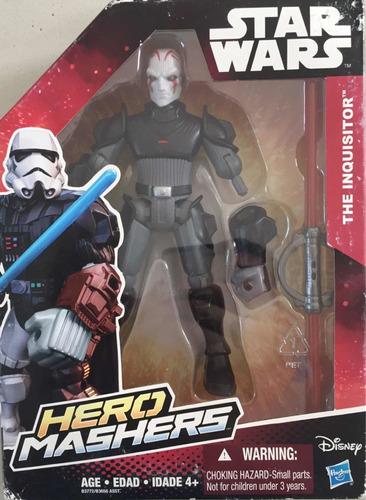 muñeco the inquisitor star wars hero mashers hasbro