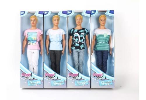 muñeco thiago tipo ken - poppy doll 6523- original educando