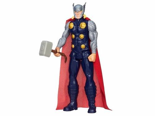 muñeco thor the avengers marvel  original hasbro 30 cm