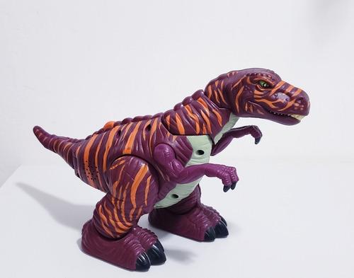 muñeco tiranosaurio rex - camina (articulado)(25v)