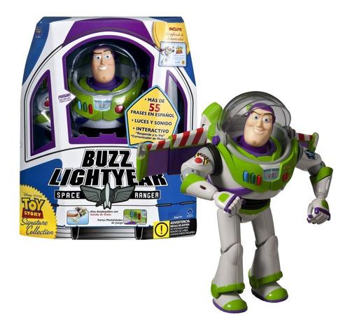 muñeco toy story buzz lightyear interactivo mundo manias