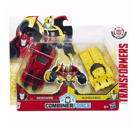 New Transformers Optimus Prime with Carrier Including Bumblebee and Sideswipe