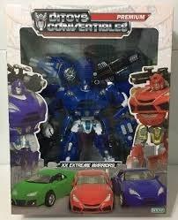 muñeco transformers ditoys xx extreme warriors premium