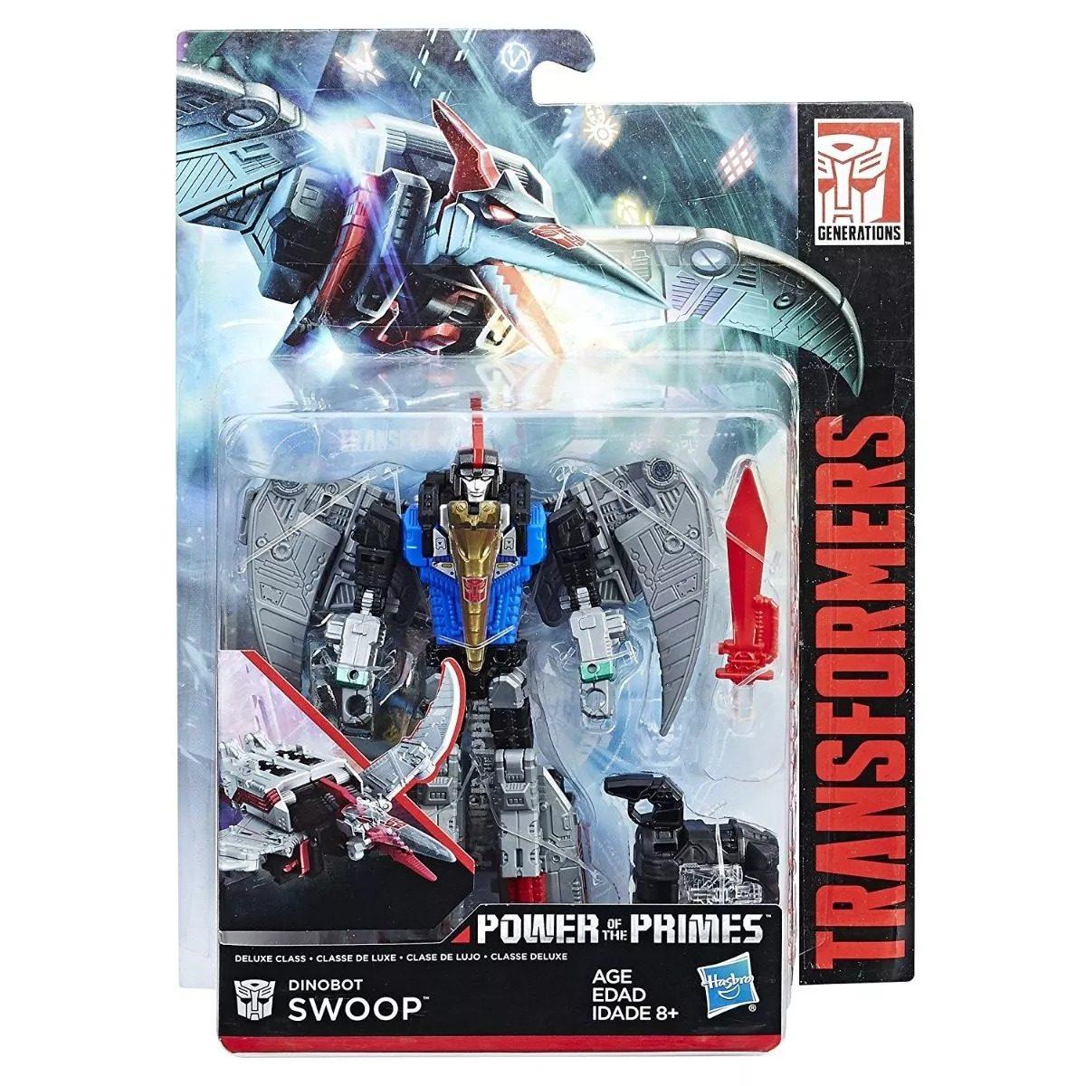 Generations Power of the Primes Deluxe Dinobot Swoop New in Box 14cm