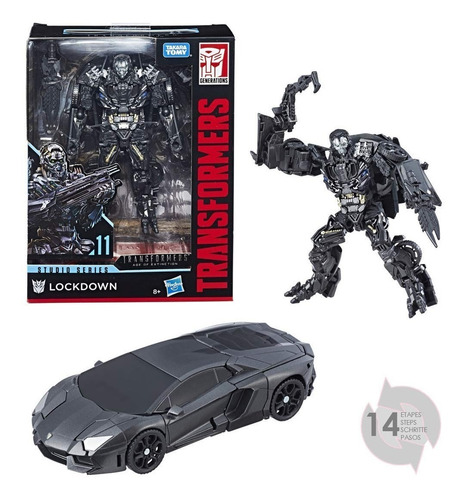 muñeco transformers lockdown generations e0701 hasbro