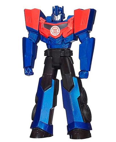 muñeco transformers optimus prime 10cm hasbro original