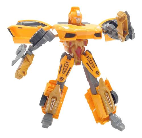 muñeco transformers super robot transmutes naranja