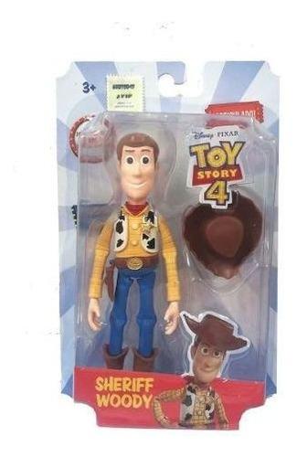 muñeco woody 13 cm articulado toy story 4 disney original