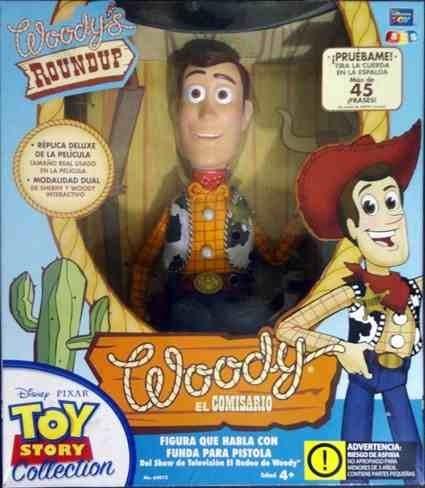 Muñeco Woody Comisario Vaquero Toy Story.interactivo. Nuevo ... 79129727aea