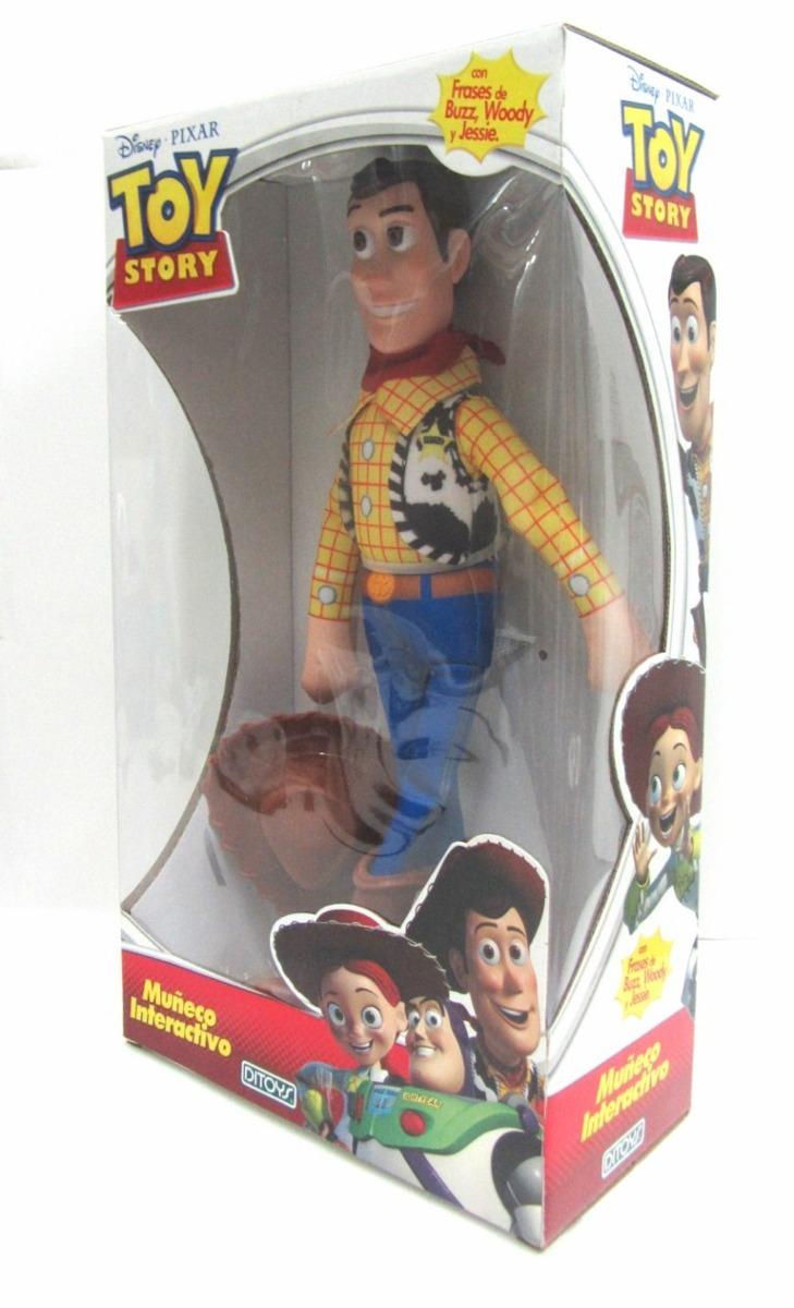 Muñeco Woody Toy Story Habla Grande 40cm Original Mirá -   999 34df22bad48