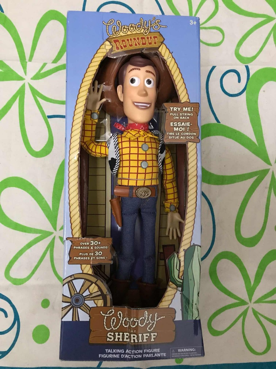 muñeco woody toy story habla original disney store 35cm. Cargando zoom. c2d6e4c8f38