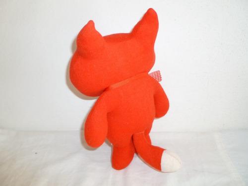 muñeco zorro rojo de peluche