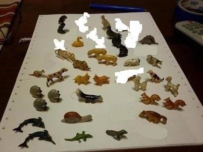 muñecos  animales jack felfort