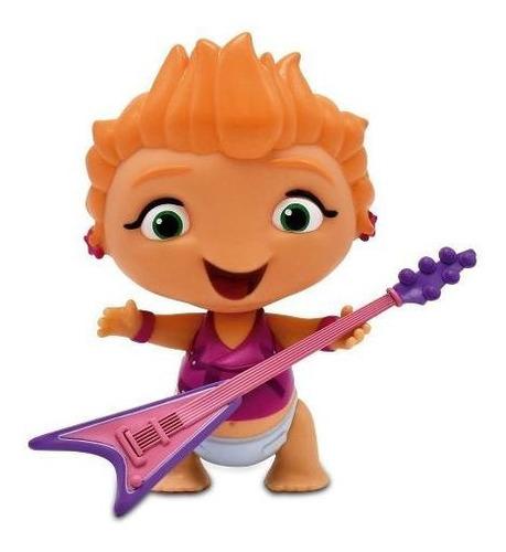 muñecos articulados mini beat power rockers con instrumento