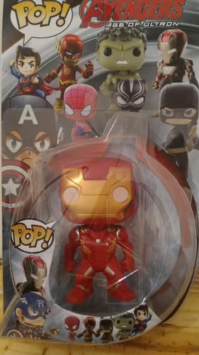 muñecos articulados tipo funko pop 11cm hulk antman wolverin