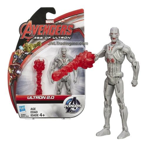 muñecos avengers articulados ultron 2.0 12cm hasbro orig!!