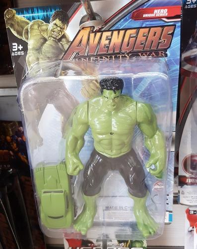 muñecos avengers thor hulk iron man capitan america