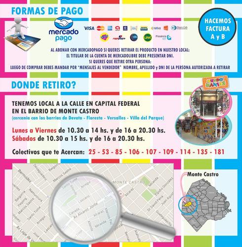 muñecos ben & holly´s 9 piezas ben and hollys mundo manias