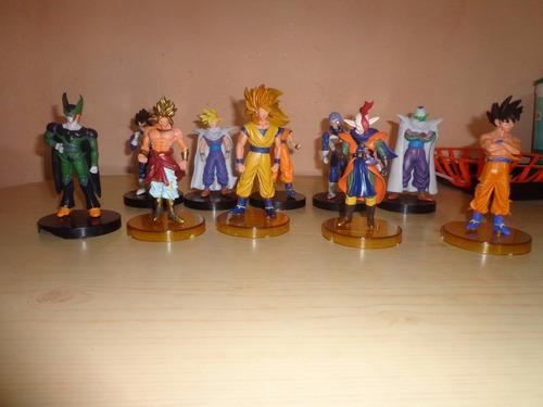 muñecos coleccion dragon ball