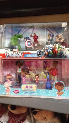 muñecos de avenger o dra juguetes tamaño torta