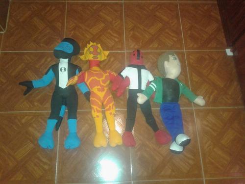 muñecos de ben 10 mas alienigenas