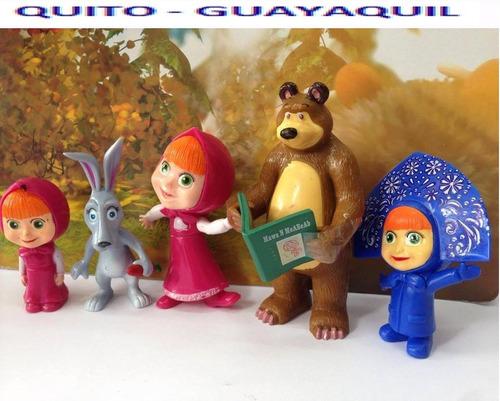 muñecos de la masha y el oso  set de masha y e oso