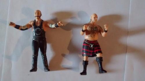 muñecos de lucha libre miniatura x 2!!!