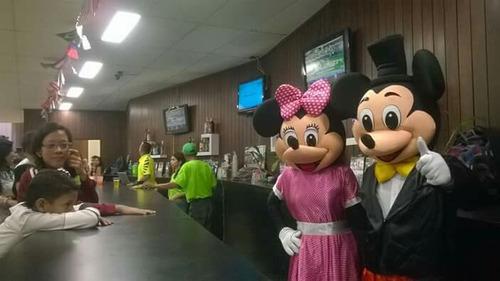 muñecos de mickey y minnie para fiestas y eventos