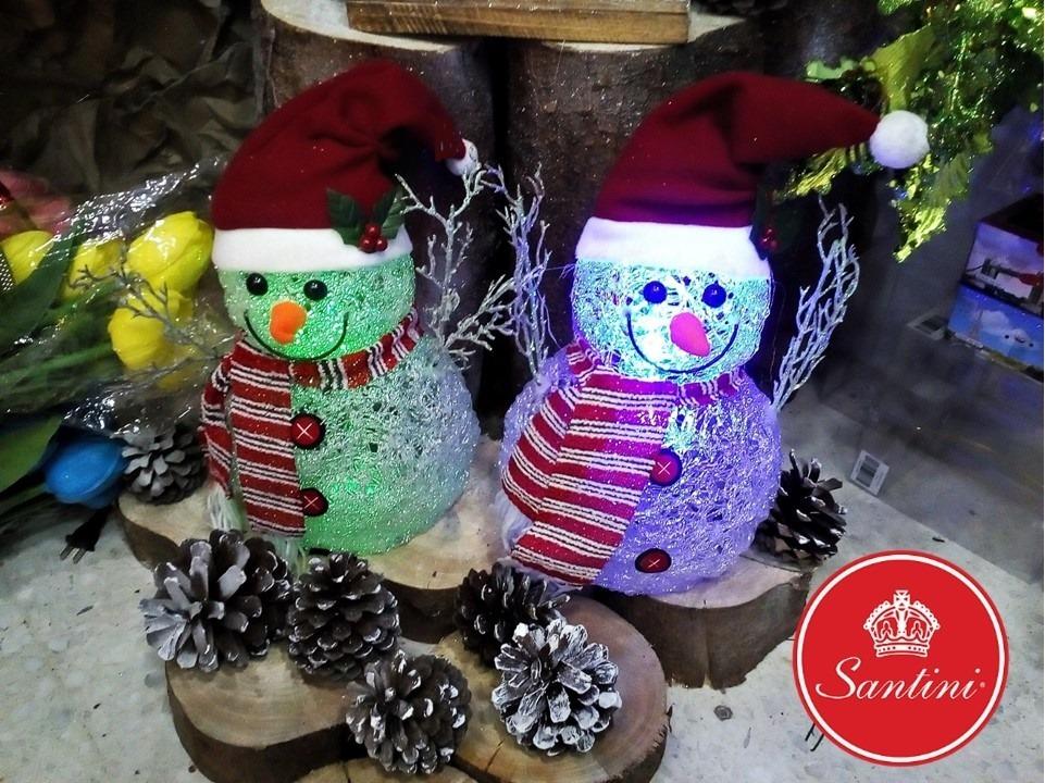 Muñecos De Navidad - Muñecos De Nieve Santini - $ 95.000