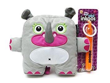 muñecos de peluche,juguete inkoos felpa rhino con marcad..