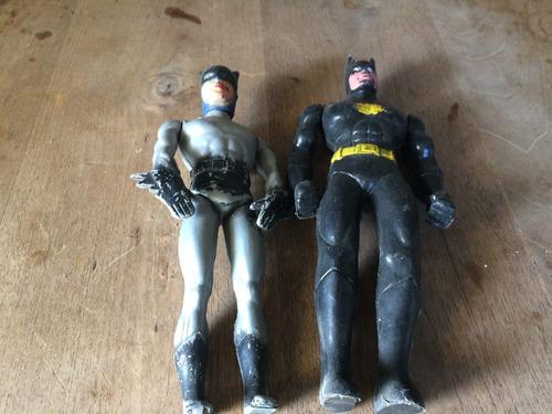 muñecos de plastico  inflado antiguo