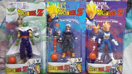 muñecos dragon ball z articulados piezas intercambiables