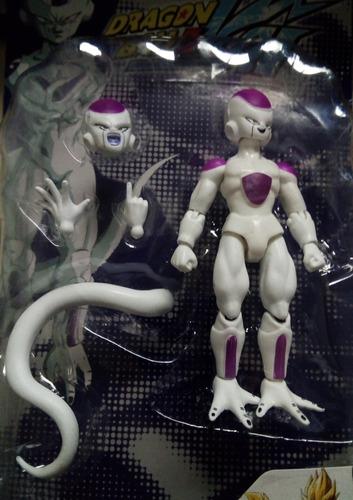 muñecos dragon ball z dbz articulados piezas intercambiables