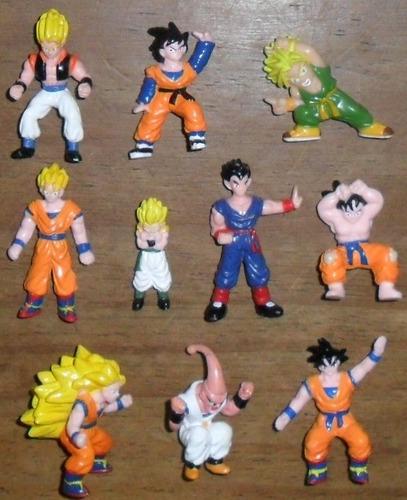 muñecos dragon ball z figuras miniaturas bs/s.ta mini irwin