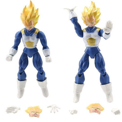 muñecos dragon ball z x 9 goku vegeta piccolo cell trunks  +