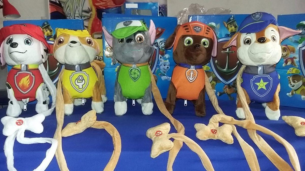 Mu ecos electronicos paw patrol patrulla canina juguete - Munecos patrulla canina ...
