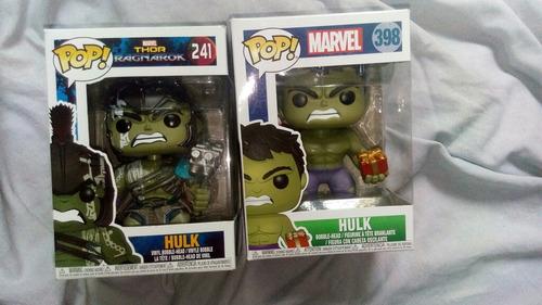muñecos funko pop hulk