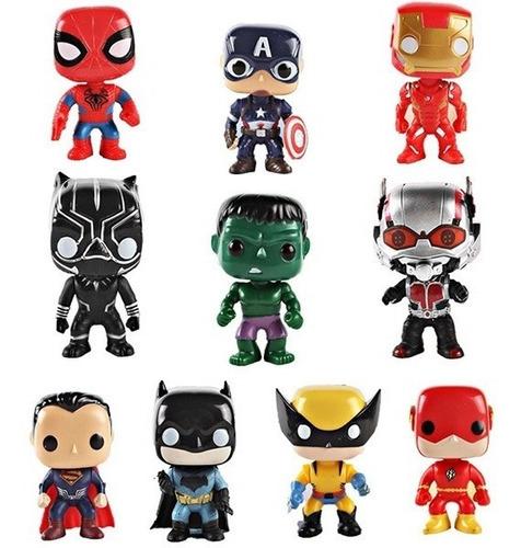 muñecos funko pop super héroes advengers justice league